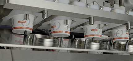 Cup Filling Sealing Overcapping Equipment